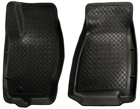 rear floor mats husky liners classic 2005 2010 jeep grand front
