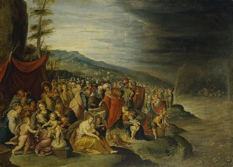 israelites  crossing  red sea hermitage museum