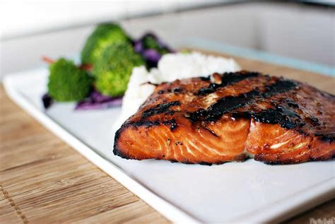 how to bbq salmon teriyaki flame grilled salmon pass the sushi