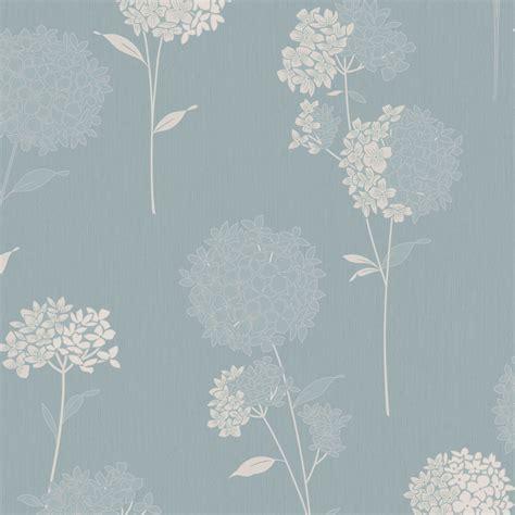 Dulux Annabelle Clear & Duck Egg Wallpaper   Departments