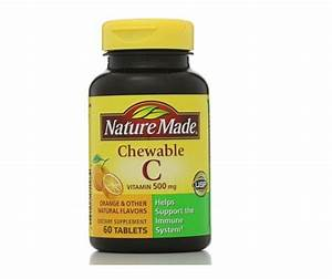 Nature Made Vitamin C 500 Mg Chewable Tablets Orange 60 Tablets