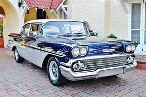Cars - 1958 Chevrolet Biscayne Hardtop 350 V8