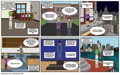Comic Bases Acid Storyboard