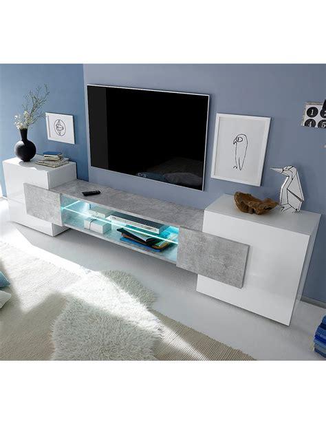 Tv Möbel by Tv M 246 Bel 171 Bahamas 187 Weiss Beton
