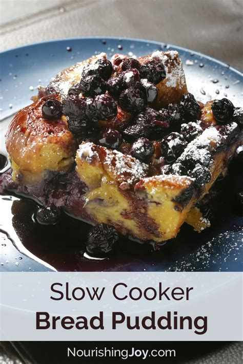 puddings in cooker slow cooker bread pudding