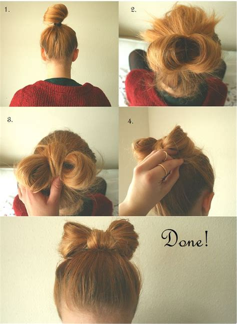 bow hairstyles  tutorials  imges
