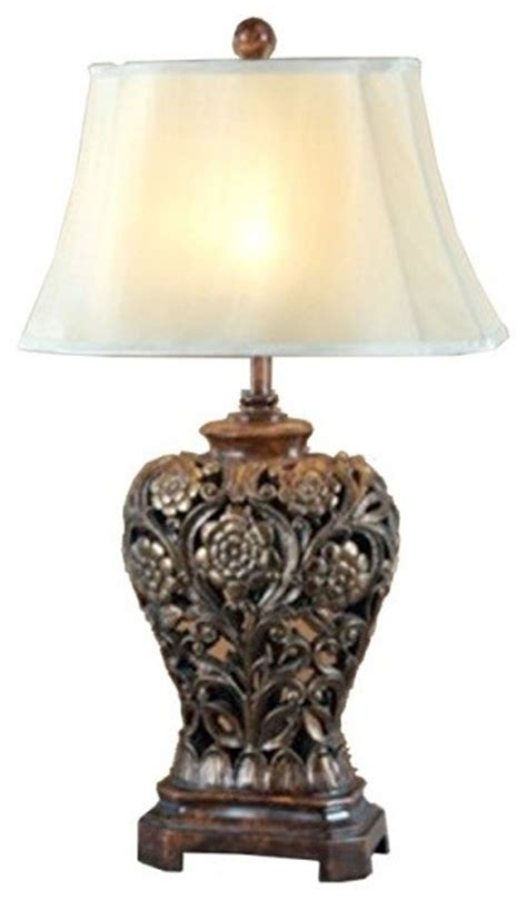 Antique Vase Bedroom Table Lamp  Traditional Table