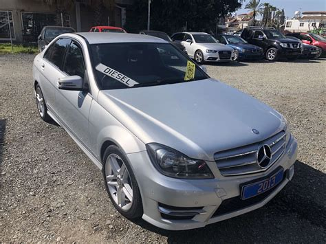 Ready for export to europe. 2013 MERCEDES BENZ C220 CDI AMG SPORT