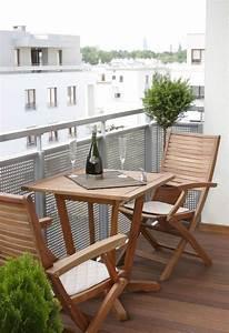Table Chaise Balcon : am nagement balcon meubles d co et astuces pratiques ~ Teatrodelosmanantiales.com Idées de Décoration