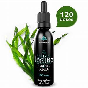 Iodine Supplement Naturally Sourced From Kelp