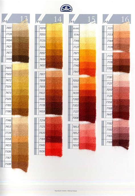 tabla carta de colores dmc lanas colbert articulos de