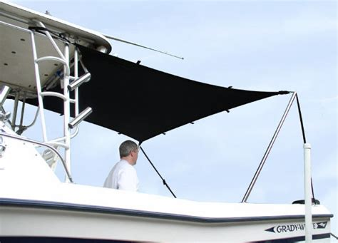 Boat T Top Shade by T Top Boat Sun Shade Kit 6 L X 5 W Will Stretch To 8 L X 7