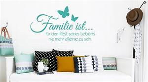 Wandtattoo Sprüche Familie : familien wandtattoos ~ Frokenaadalensverden.com Haus und Dekorationen