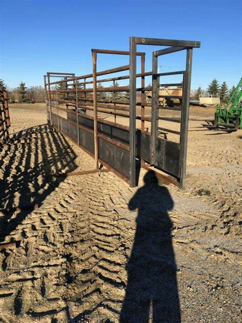 cattle barn beef livestock cow cows panels priefert bison welding corrals fence farm calf pen handling rodeo gate hacks gates