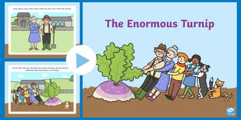 The Enormous Turnip Story Powerpoint  The Enormous Turnip, Story Powerpoint