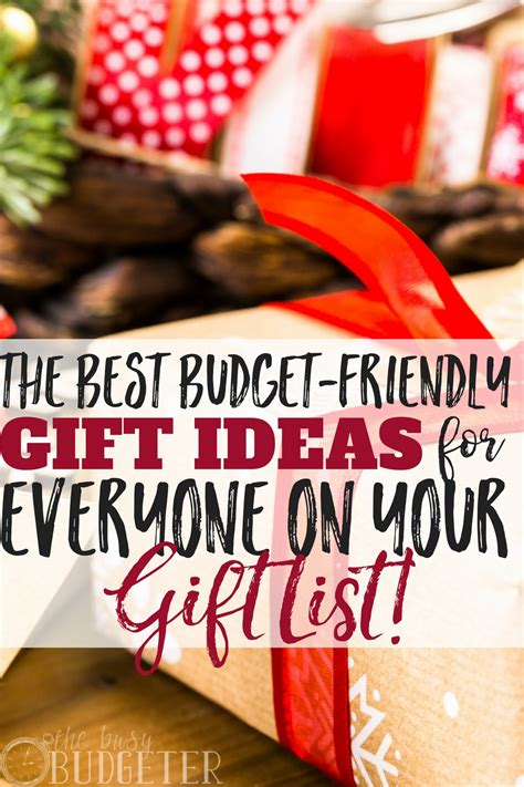 The Best Budgetfriendly Gift Ideas For Your Holiday List