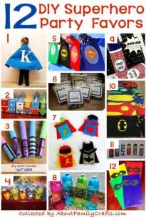 diy superhero party ideas  family crafts