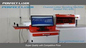perfect laser advertising automatic channel letter bender With channel letter machine for sale