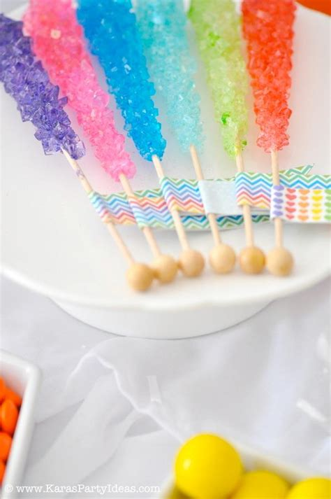 kara 39 s party ideas rainbow themed birthday party rainbow themed birthday party via kara 39 s party ideas