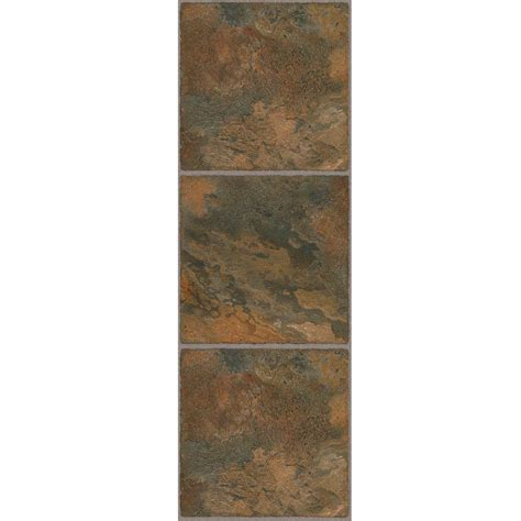vinyl flooring 12 x 36 trafficmaster allure 12 in x 36 in cyprus vinyl tile flooring 24 sq ft case 211812 0