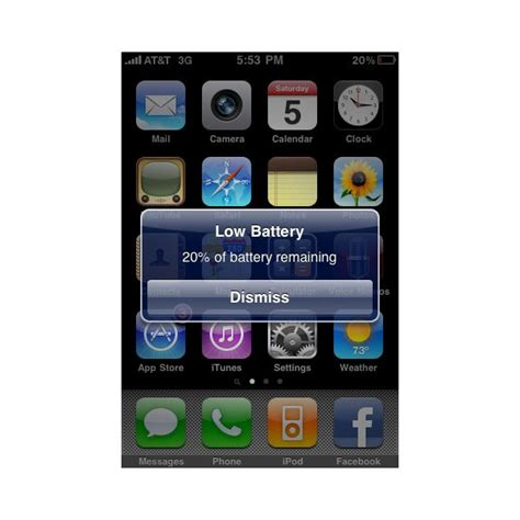 iphone displays the low battery image and is unresponsive iphone low battery screenshot www pixshark images