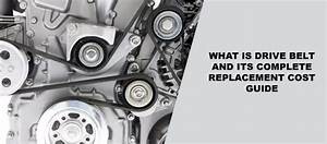 What Is Drive Belt And Its Complete Replacement Cost Guide