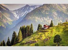 House in Switzerland 4K Ultra HD wallpaper 4kWallpaperNet