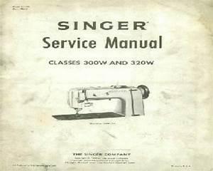 Singer Classes 300w  U0026 320w Anti