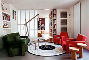 un appartement parisien mis en boite marie claire With amenagement petit appartement parisien