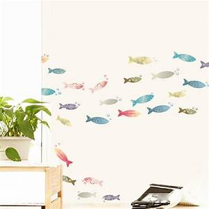 bathroom fish art bathroom design With kitchen colors with white cabinets with laptop stickers mac