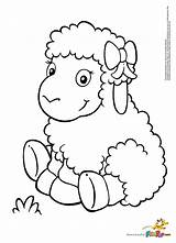 Lamb Baby Drawing Coloring Pages Getdrawings sketch template