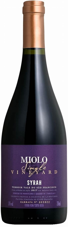 Miolo Syrah Vineyard Single Wine