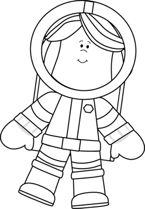 astronaut clipart black and white astronaut black and white clipart
