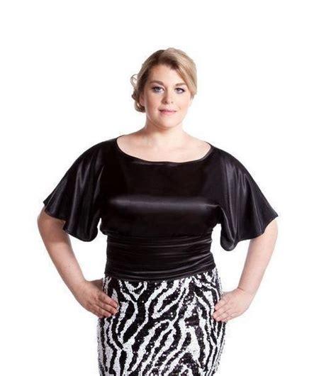 plus size silk blouses black satin plus size blouse by grace plus size