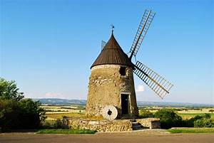 Photograph Medieval windmill in Castelnaudary, southern ...