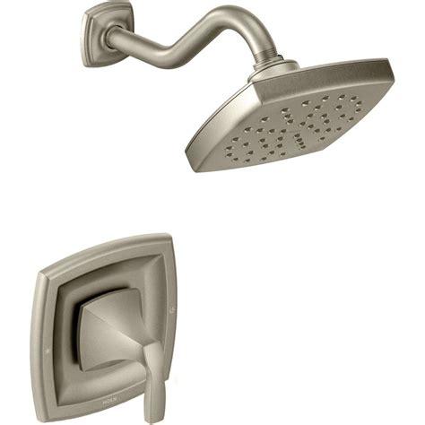 kohler brushed nickel kitchen faucet moen t3692bn voss brushed nickel one handle shower only
