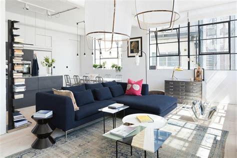 emejing decoration de salon images emejing deco salon avec canape bleu photos design trends