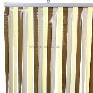 Rideau Jaune Et Gris : rideau de porte lani res gris et jaune eminza ~ Teatrodelosmanantiales.com Idées de Décoration