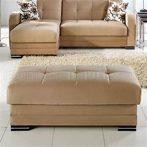 Kubo sectional sofa in rainbow dark beige fabric by sunset for Dark beige sectional sofa