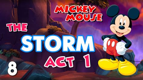 Magic Hobby Show  Mickey Mouse Game The Storm  Act 1