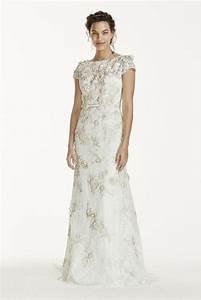 melissa sweet 3d cap sleeve wedding dress style ms251120 With melissa sweet wedding dress