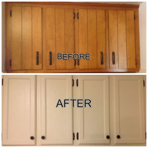 updated outdated  cabinets filled  grooves