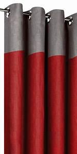 Rideau Gris Et Rouge : rideau rouge et gris zakelijksportnetwerkoost ~ Teatrodelosmanantiales.com Idées de Décoration