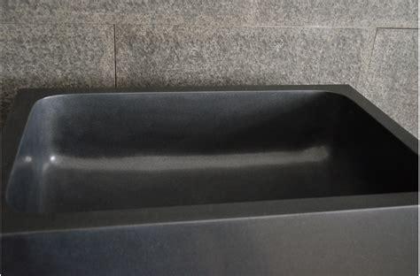 evier cuisine sous plan walabi shadow évier de cuisine sous plan en noir luxe