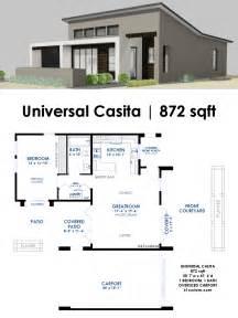 modern house plan universal casita house plan 61custom contemporary