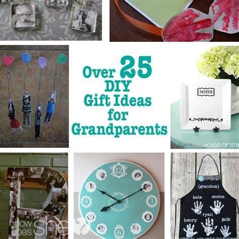 ideas from baby to grandparents for christmas 25 diy gift ideas for grandparents notebooks for and ornament