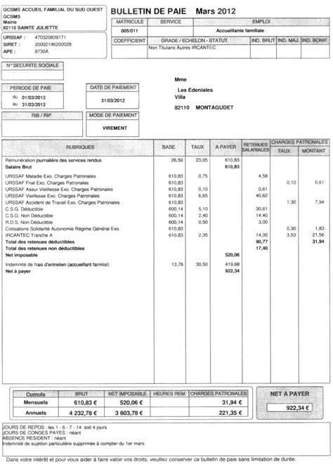modele fiche de paie president sasu assembl 233 e g 233 n 233 rale 2012 famidac