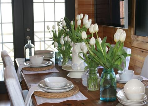 arranjos de mesa mesa de jantar simples  barato