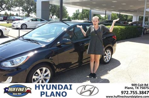 Hyundai Huffines by Thank You To Kirby Tucker On The 2013 Hyundai Accent From