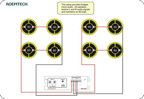 wiring speakers  series diagram electrical website
